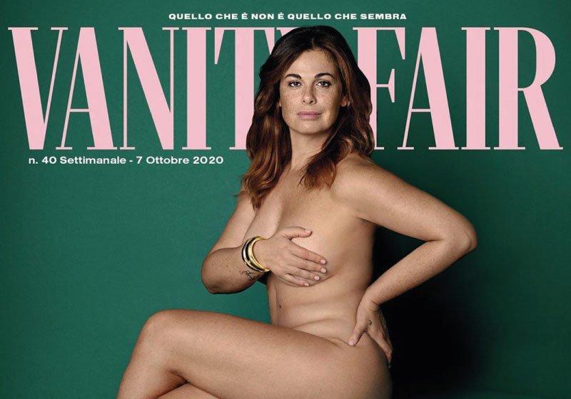 Vanessa Incontrada, in copertina nuda per celebrare la body positivity