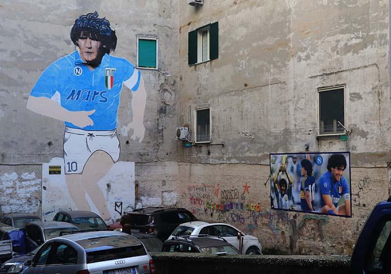 D1eg0, un campione senza tempo strettamente legato a Napoli