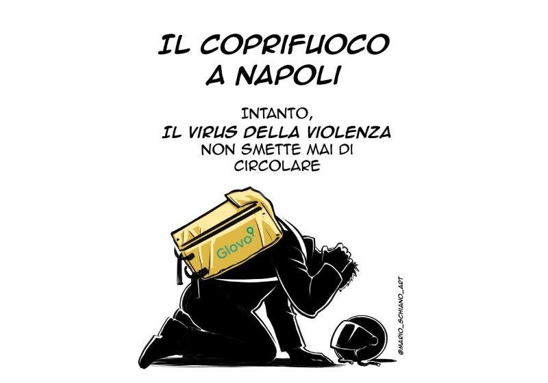 Rider aggredito a Napoli: due facce della stessa città