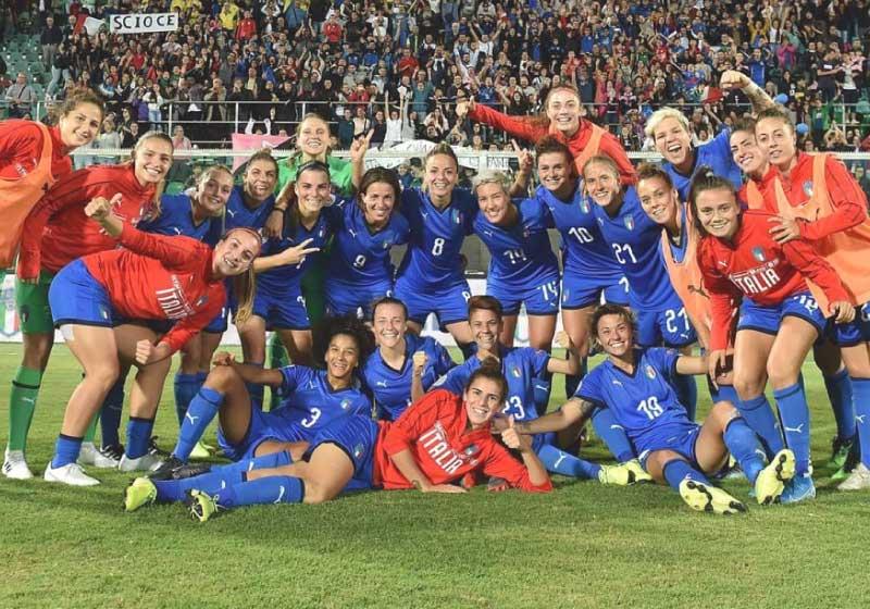 Italia femminile di calcio: il pass dell'Europeo passa attraverso Israele