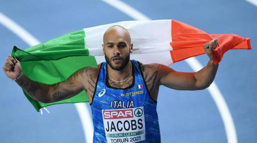 Atletica, Europei indoor: Marcel Jacobs oro nei 60 metri con record italiano