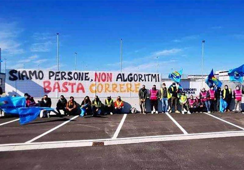 Amazon: sciopero tutto italiano