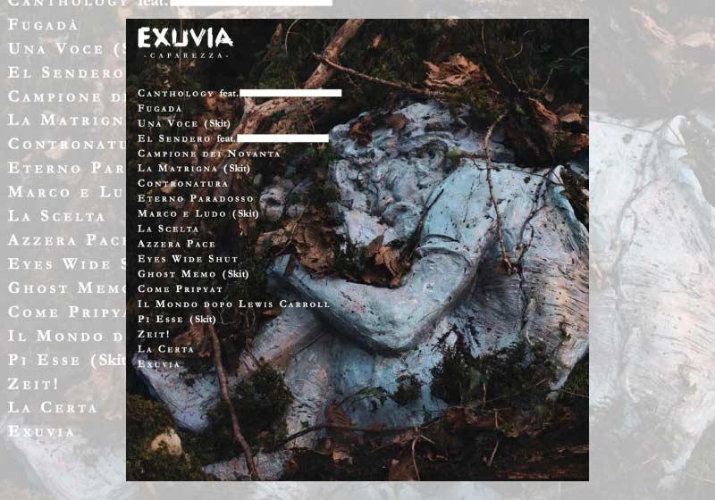 L'Exuvia di Caparezza: l'album della metamorfosi