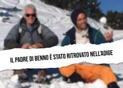 Peter Neumair, padre di Benno è stato ritrovato nell'Adige