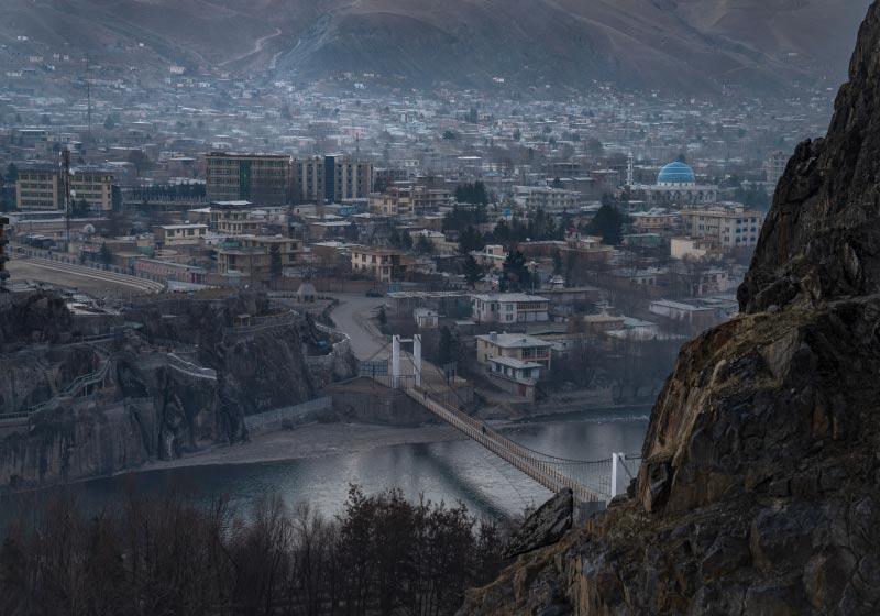 Via dall'Afghanistan