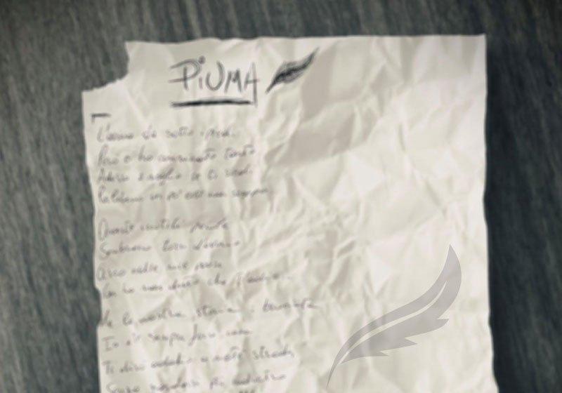 """""""Piuma"""", il nuovo singolo di Alessandra Amoroso. Da oggi disponibile su tutte le piattaforme"""