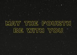 Star Wars Day, may the Force be with you